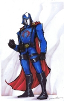 Cobra Commander by Fletcher Comic Art
