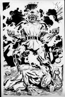 Steve Rude DOOM TRIUMPHANT Comic Art