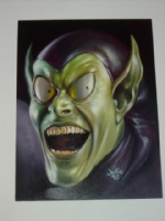 Green Goblin By Julie Bell  Comic Art