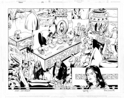 Mark Buckingham/Steve Leialoha - Fables 24 page 14/15 Comic Art
