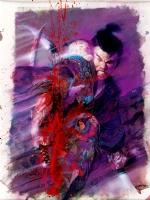 Bill Sienkiewicz - Lone Wolf and Cub Trade cover Comic Art