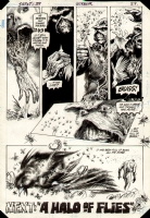 Steve Bissette/John Totleben - Swamp Thing 29 page 23 ( It was full of bugs ) Comic Art