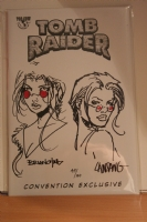 Tomb Raider Double Sketched  Comic Art