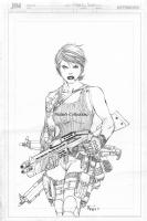 Ballistic Inked by Jimmy Reyes: Finished!!! Comic Art