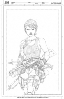 Ballistic Promo to be inked by Jimmy Comic Art