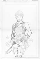 Ballistic Inks progression Comic Art