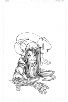 WItchblade Tradeing Card- Inked by Jimmy Comic Art