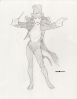 Ryan Sook - Zatanna Sketch Comic Art