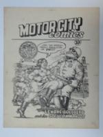 MotorCity Comics cover Comic Art
