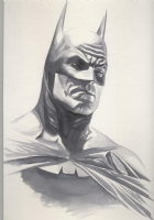 Alex Ross-Batman test Comic Art