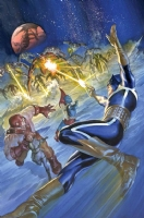 Alex Ross-Guardians 3000 #3 cover Comic Art