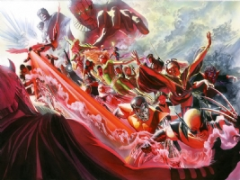 Alex Ross--X-Men #500  cover Comic Art