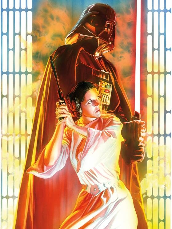 Alex Ross-Star Wars #4 cover(better scan) Comic Art