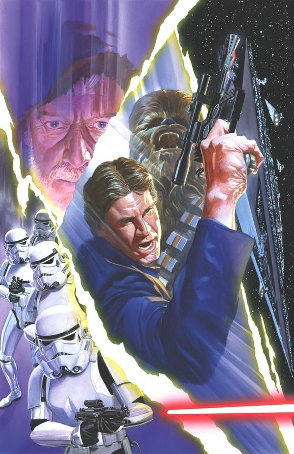 Alex Ross-Star Wars #3 cover Comic Art