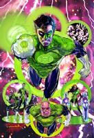 Sienkiewicz- Green Lantern poster Comic Art