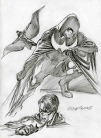 Alex Ross-NightWing Comic Art