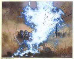MtG Prophecy: Rhystic Shield Comic Art