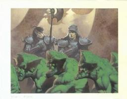 MtG Nemesis: Sivvi's Ruse Comic Art