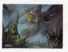 MtG Time Spiral: Celestial Crusader (new pic added 6/1/09) Comic Art