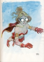 Retro Girl from Powers by Andrew Robinson, Comic Art