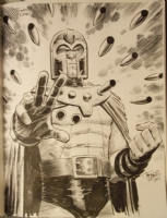 Magneto by Tony Moore, Comic Art