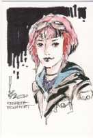 Ramona Flowers by Kenneth Rocafort, Comic Art