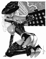Nancy Callahan of Sin City by Jason Pearson, Comic Art