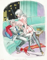 1975? - Wanton Patients #4  (Cover in color - American KV) Comic Art