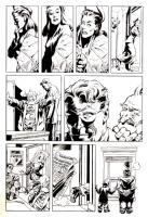 2000? - The Spirit (Page - American KV) Comic Art