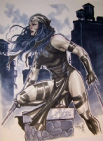 Elektra by Mark Brooks Comic Art