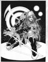 Witchblade #2 pages 20 & 21 by Michael Turner, Comic Art