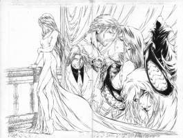 Witchblade #9 adpiece by Michael Turner, Comic Art