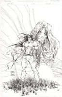 Witchblade #50 COVER by Michael Turner , Comic Art