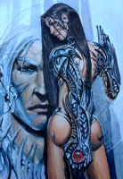 Early Witchblade pinup by Stjepan �ejić  Comic Art