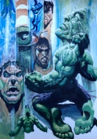 Hulk Acrylic sample page #4 by Stjepan �ejić  Comic Art