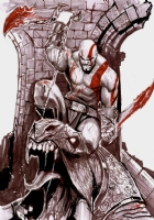 God of War commission by Stjepan �ejić  Comic Art