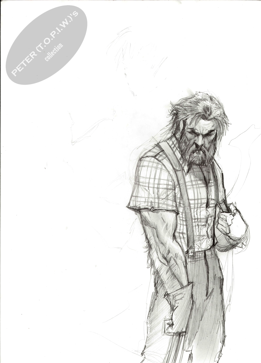 aged Logan by Stjepan �ejić  Comic Art