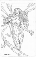 Witchblade commission by Kevin Sharpe Comic Art