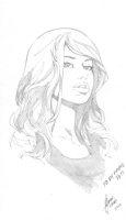 Mary Jane sketch by Cesar R. Gaspar Gonzalez, Comic Art