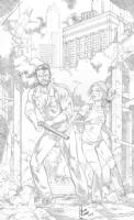 the Last of Us commission by Cesar R. Gaspar Gonzalez, Comic Art