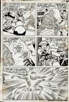 Fantastic Four 99 p.16 Comic Art