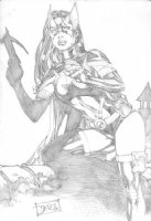 Benes, Ed - Huntress! Comic Art