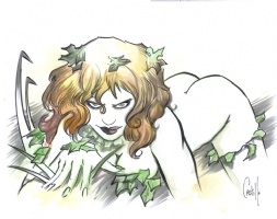 Castillo, Tommy - Poison Ivy! Comic Art