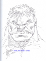 2005 Dale Keown - The Incredible Hulk Comic Art
