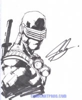 2006 Joe Ng UDON - Snake-Eyes Comic Art
