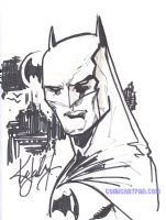 2006 Ken Lashley - Batman Comic Art