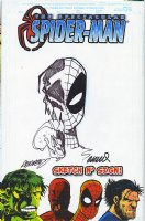 2003 Humberto Ramos & Francisco Herrera - Venom/Spider-Man Sketch Comic Art
