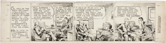 Tailspin Tommy Daily 1938 Comic Art