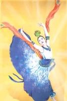 shenyun dancer, Comic Art