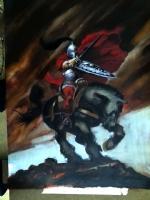 knight 2, Comic Art